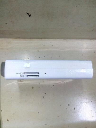 新讯 4G无线随身wifi三网通电信联通移动3G大容量充电宝路由器双卡槽mifi可接网线 LR511C带网口六模全网移动联通电信3G4g 晒单图
