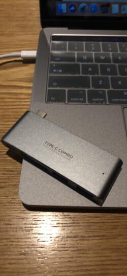 毕亚兹(BIAZE) USB3.1 Type-C转vga 转换器VGA接口投影仪外置显卡 高清1080p 支持苹果Macbook笔记本 ZH13-金 晒单图