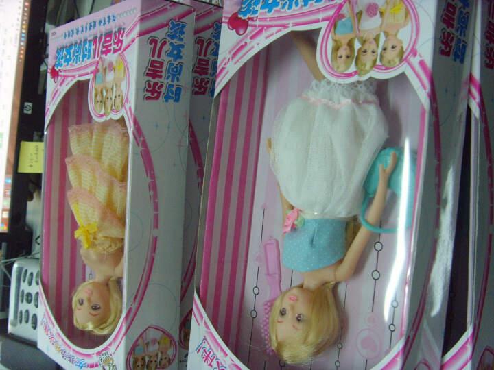 乐吉儿 娃娃时尚女孩过家家洋娃娃玩具H30C 单款颜色随机配送 晒单图