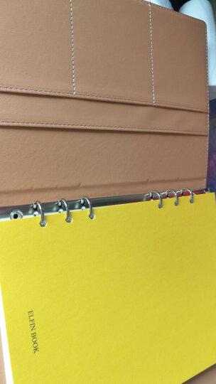 ELFINBOOK 豪华版智能可重复书写App备份笔记本子 年货创意礼品年会商务记事本A5/70页 中国红 晒单图