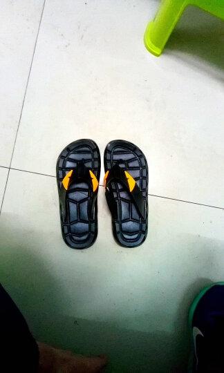 然锋 夏季拖鞋 软底人字拖鞋男女浴室凉拖鞋夹脚沙滩鞋  TTX03 女款褐色人字 39 晒单图