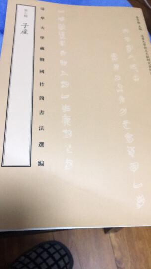 清华大学藏战国竹简书法选编·第四辑:皇门 子仪(古籍) 晒单图