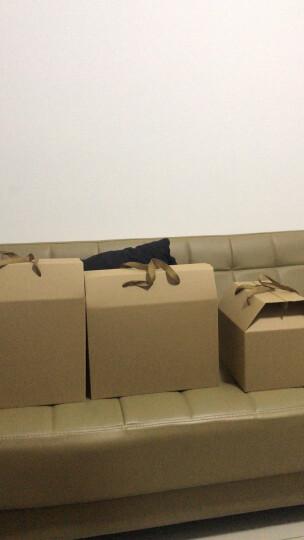 乐辰牛皮纸通用手提纸盒高档土特产粽子礼品包装盒月饼水果包装箱印刷 STL 400X180X390mm 晒单图