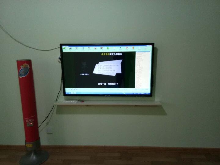 YCZX 教学一体机会议触摸屏电视电脑电子白板多媒体触摸一体机壁挂幼儿园商显触控机广告机 32英寸触摸一体机 i7/4G/120G固态 晒单图
