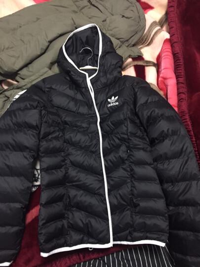 阿迪达斯ADIDAS 三叶草 2017冬季 女子 SLIM JACKET 夹克棉服 BS5025 S码 晒单图