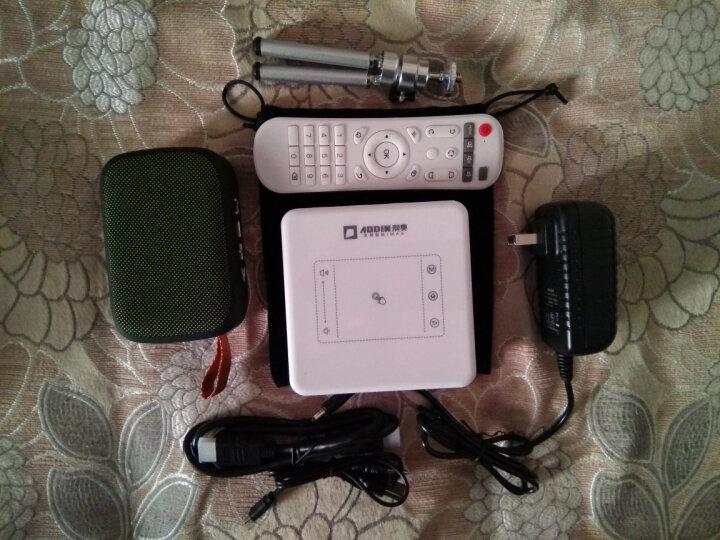 澳典 (AODIN) 微型手机投影仪家用 全高清办公 便携迷你wifi投影机 智能3D 白色升级版T13   2G+16G 晒单图