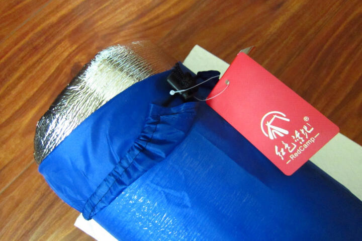 红色营地 户外防潮垫 加厚野餐垫子 帐篷地席 双面铝膜150*200*0.2cm 晒单图