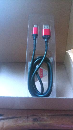 魔风者 闪电快充手机原装数据线2A/3A快充电器线 适用于 1米-高弹线-蓝色 TCL么么哒3n/3s乐玩2/2c 晒单图