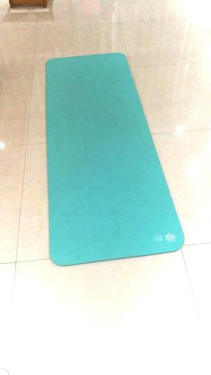 奥义瑜伽垫 加厚15mm舒适防硌健身垫 高密度防滑加长男女运动垫子 水蓝(含绑带网包) 晒单图