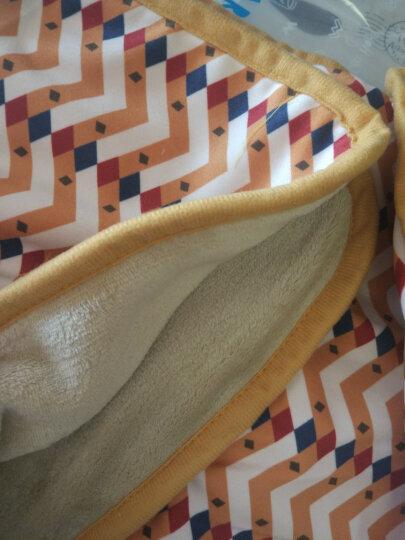 carihome 北欧卡通法兰绒毛毯春秋办公室沙发毯子珊瑚绒单人午休毯毛巾被 爱丽丝 150*100cm 晒单图