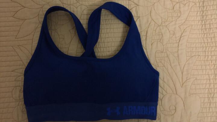 Under Armour 安德玛 UA女子Crossback含胸垫运动内衣-1276503 蓝色480 S 晒单图