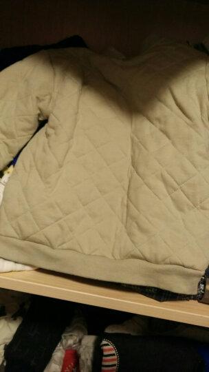 南极人 Nanjiren 儿童卫衣男童女童秋冬装宝宝保暖上衣加厚男婴儿绒衫童装 肩开衍缝-杏粉 73 晒单图