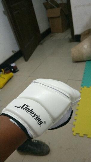 拳击手套半指拳套跆拳道沙袋护手护脚套护具组合套装 护手护脚套装 L码身高150-170CM 晒单图