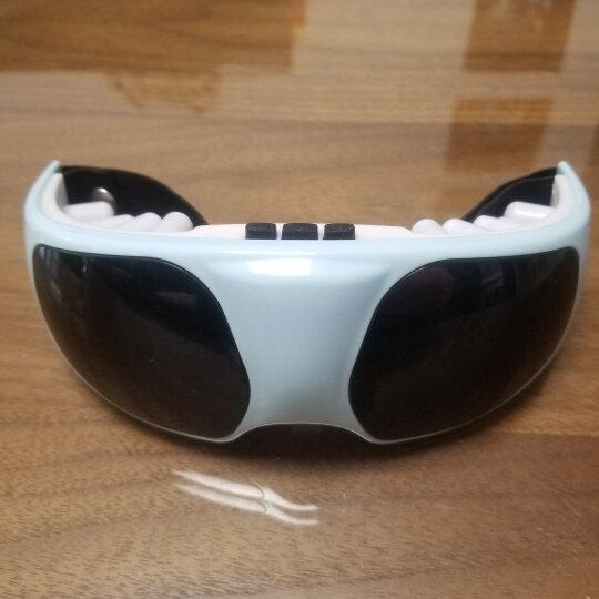 精睿(JR) 眼睛按摩仪 眼保仪护眼仪近视力恢复仪眼部按摩器眼罩眼镜 轻便按摩(电池款) 淡蓝色 晒单图