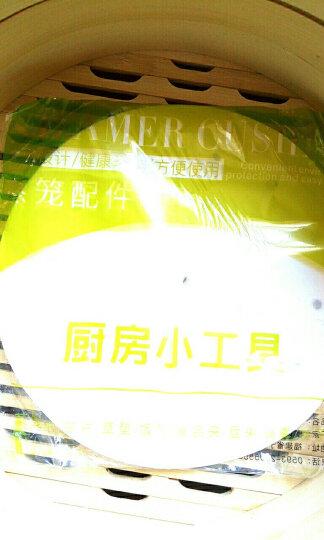蒸尚美 蒸笼纸不粘烘焙纸100张面包子纸馒头垫烧烤纸饺子凤爪点心纸 21厘米【适合23、24厘米蒸笼】 晒单图