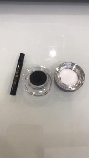 卡姿兰(Carslan)魅惑浓郁眼线膏102#黑色3.5g(防水不晕染眼线笔 眼线液笔 彩妆) 晒单图