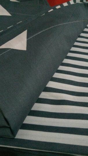南极人四件套纯棉床品套件全棉斜纹印花床上用品(被套2x2.3米) 锦鲤【上新款】 1.5-1.8米床适用 晒单图