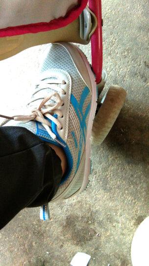 乔丹格兰休闲鞋女鞋2018春夏网布鞋韩版低帮增高厚底运动鞋百搭舒适板鞋子透气 粉红-891 37 晒单图