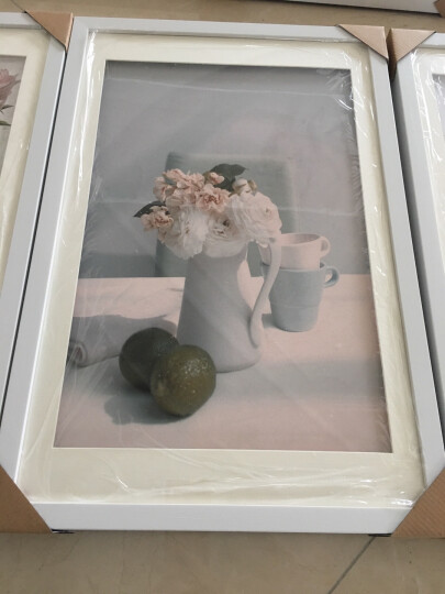 KINGART 餐厅装饰画壁画现代简约挂画墙画北欧装饰画卧室装饰画饭厅会所酒店画二联画爱心咖啡S41 花卉杯子一套2联价格 60*60 晒单图