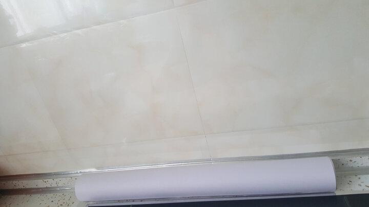 赣春 厨房防油贴纸透明玻璃贴瓷砖防水墙橱柜贴纸 防油贴膜60*90全透明6片装 晒单图