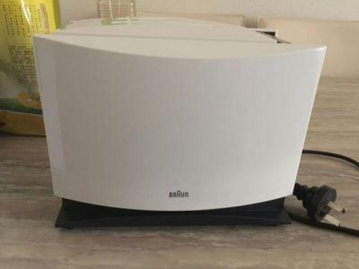 博朗(Braun) HT400 多士炉早餐烤面包机 吐司机三明治机 防尘盖设计 保修3年 白色 晒单图