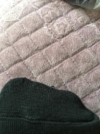 阿迪达斯adidas男女袜子运动休闲棉袜六双装黑色M码39-42码 晒单图