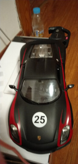 星辉(Rastar) 遥控车 1:14保时捷918赛车版外置USB充电可漂移跑车男孩儿童玩具车模型70770-1黑色 晒单图