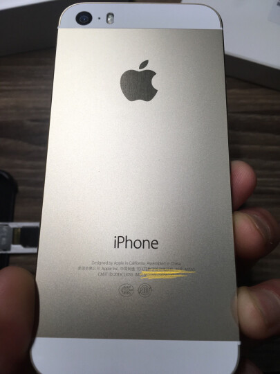 Apple 苹果5s  iPhone 5s (A1530) 4英寸 移动联通双4G手机 银色 官方标配 16G 晒单图