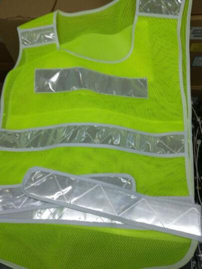 9F 反光背心 反光马甲 交通交警反光衣 骑行环卫施工作安全荧光衣服 网格款-荧光绿 晒单图