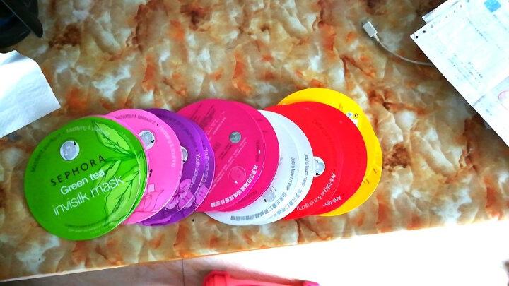 丝芙兰(SEPHORA)蚕丝面膜系列 保湿补水醒肤透亮 牛油果10片+海藻10片+珍珠10片 晒单图