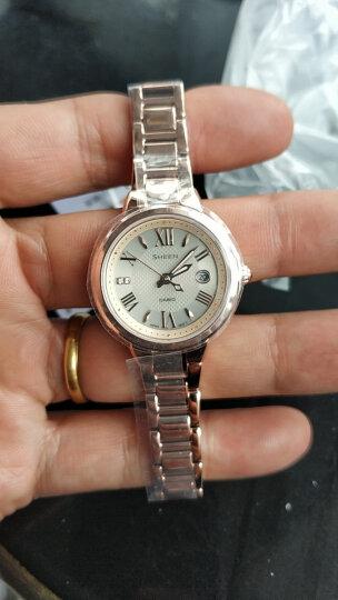 卡西欧(CASIO)手表 SHEEN 女士人工合成蓝宝石玻璃时尚腕表 太阳能石英表 SHE-4516SBG-9A 晒单图