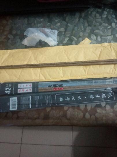 品迈筷子 火锅捞面油炸鸡翅木筷子 25cm筷子-十双装 晒单图