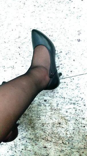 【名品精选 限量秒杀】JOOHEES品牌自营牛皮定制款单鞋细跟尖头高跟鞋300 白色-定制款 38 晒单图