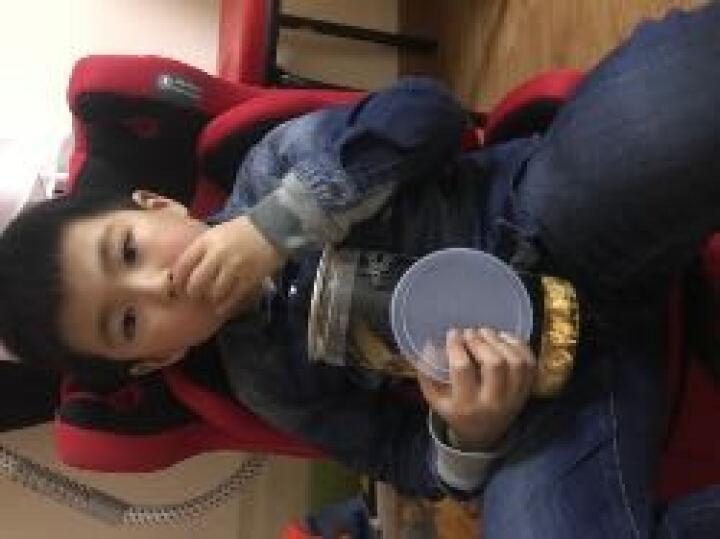 贝福来(Beflye) 儿童安全座椅汽车用婴儿宝宝车载简易9个月-3-4-7-12周岁 赛车红2018 晒单图