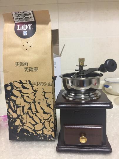 lot 原产地庄园精品咖啡 LOT咖啡豆 进口咖啡豆新鲜烘焙柯现磨咖啡粉 黄金曼特宁 227克送法压壶 晒单图