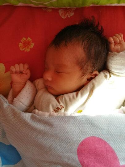 双漫婴儿枕头定型枕防偏头宝宝新生儿定型枕头纠正偏头 可爱公主款 定型枕双枕套(换洗款) 晒单图