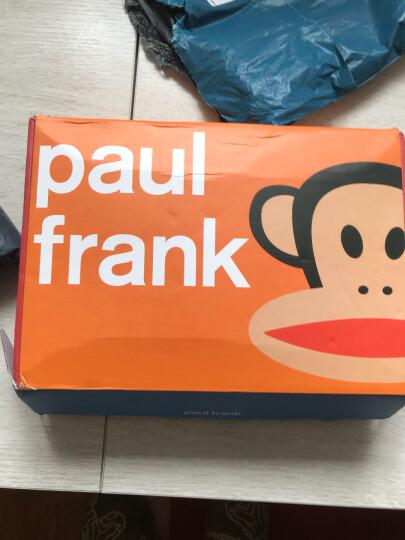 大嘴猴(PAUL FRANK) 女装经典LOGO连帽套头卫衣卫裤运动休闲套装两件套 浅麻灰 S 晒单图