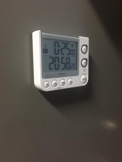 欧西亚闹钟 电子数显计时器厨房用实验室用双通道闹铃TW331 晒单图