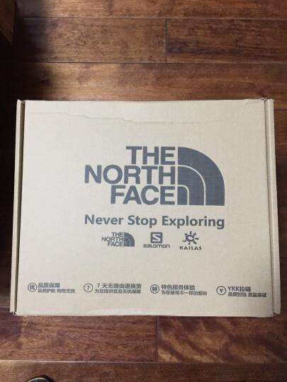 北面(The North Face) 户外袜子柔软透气耐磨舒适 2双装|2XY8 XAV/黄色/白色 M 晒单图