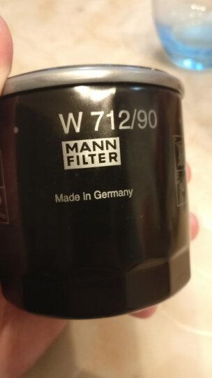曼牌(MANNFILTER)机油滤清器/机油滤芯/机滤W6011(精灵进口 Fortwo CoupéCabrio II 1.0) 晒单图
