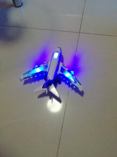 遥控飞机玩具 儿童玩具飞机模型 四通道固定翼航模航天飞机 灯光音效 过年礼物 A380空中巴士 晒单图