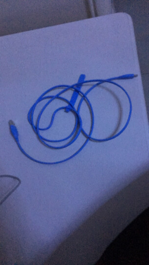 摩米士(MOMAX)苹果MFI认证数据线lighting充电线适用iPhone8/7/6/6s plus/X/5s/SE手机1.5米蓝色 晒单图