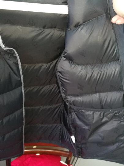 黑冰天枢冬季加厚款户外羽绒服男白鹅绒天璇PLUS羽绒衣女F8509/8512 女款-红色(升级新款拒水鹅绒) S 晒单图