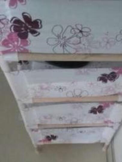 密林实木四层置物架收纳架 实木架子 多层架 厨房杂物储物书架 装饰架 ML-MCJ01 晒单图