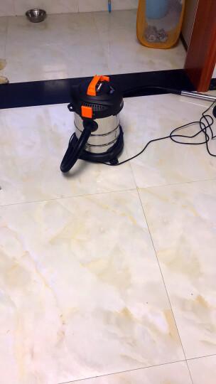 亿力 YILI 吸尘器家用商用干湿吹三用吸水吸尘器 大功率桶式无耗材吸尘机 除螨版YLW6263A-12L金属桶+除螨刷 晒单图