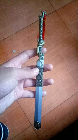 2018中国古代挂件 八面汉模型钥匙扣1 有容枪色16.5厘米 晒单图