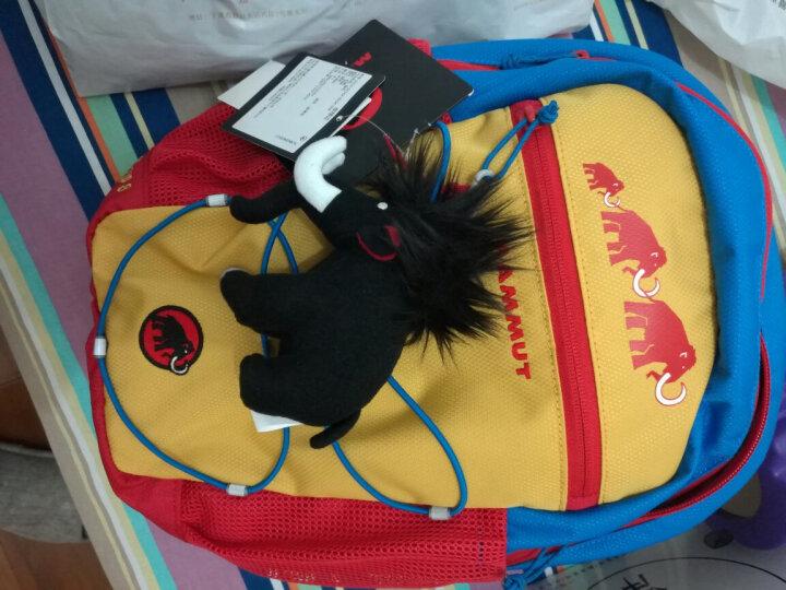 猛犸象(MAMMUT)背包 女士双肩包儿童学生书包送玩偶First Zip2510-01542 黄蓝色8升 晒单图