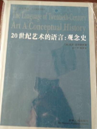 20世纪艺术的语言:观念史 晒单图