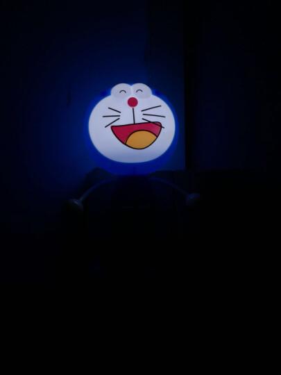 卡通插电儿童房节能能婴儿喂奶灯床头灯led小夜灯礼品礼物创意定制节日装饰 叮当猫 晒单图
