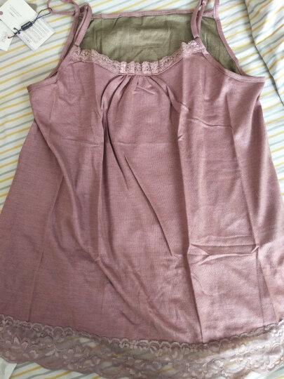 婧麒防辐射服孕妇装银纤维防辐射吊带衣服大码 粉红色 XL 晒单图